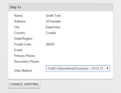 FedEx Shipping Estimate Insanely High - SmithCart