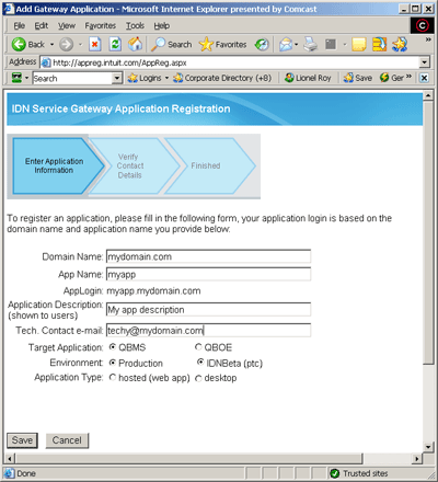 QuickBooks Merchant Services (QBMS)